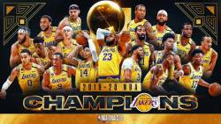 Los Angeles Lakers, campioana in NBA