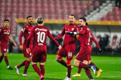 Chindia – CFR Cluj 0-1. Victorie din penalty