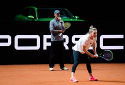 Asa am trait Simona Halep in primul meci la Stuttgart
